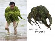 APTOPIX China Olympics Algae