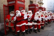 BRITAIN FATHER CHRISTMAS