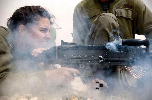 イスラエル軍の女性兵士107