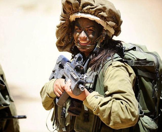 イスラエル軍の女性兵士116