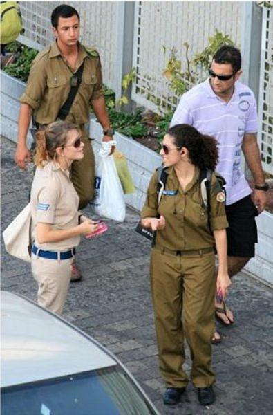 イスラエル軍の女性兵士117