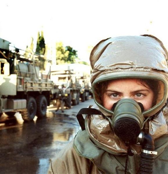 イスラエル軍の女性兵士120