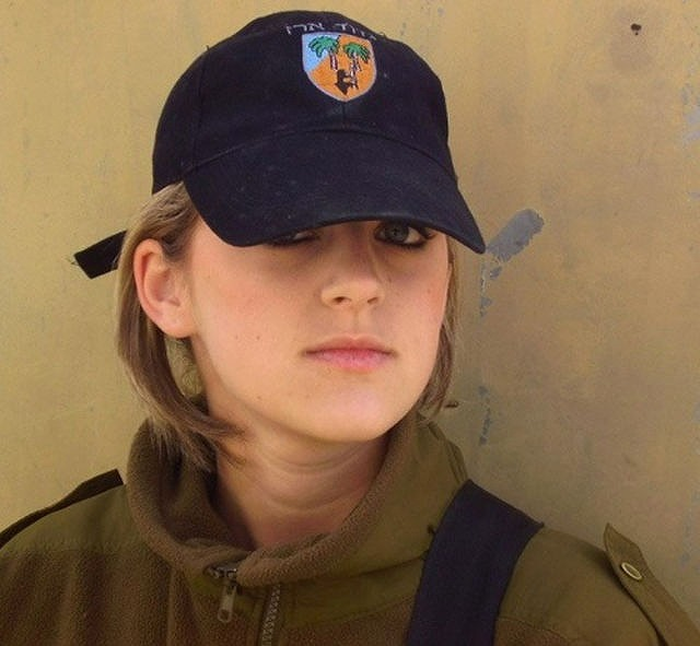 イスラエル軍の女性兵士128