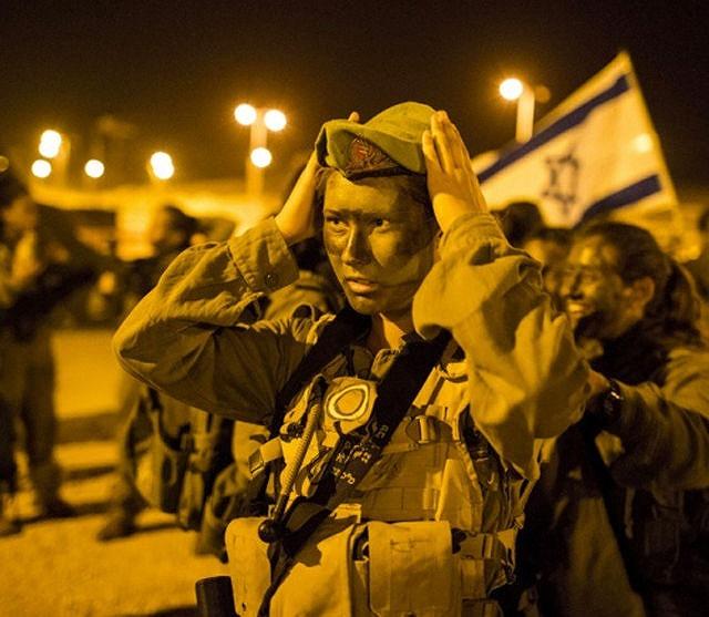 イスラエル軍の女性兵士131