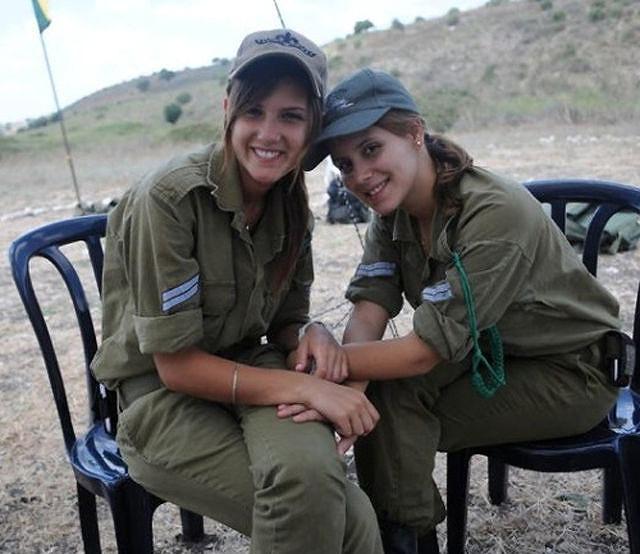 イスラエル軍の女性兵士134