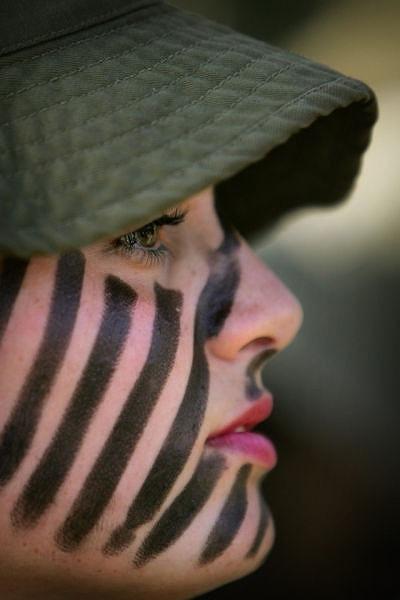 イスラエル軍の女性兵士148