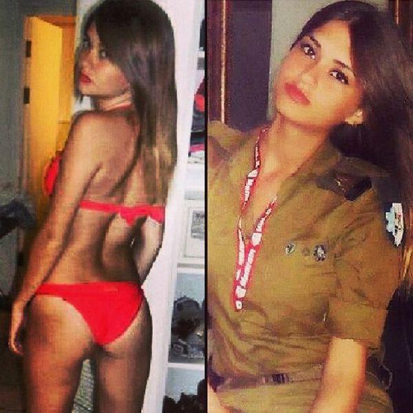 イスラエル軍の女性兵士15