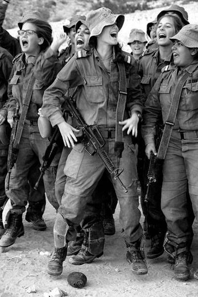 イスラエル軍の女性兵士155