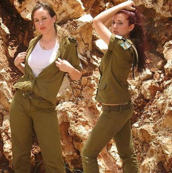 イスラエル軍の女性兵士156