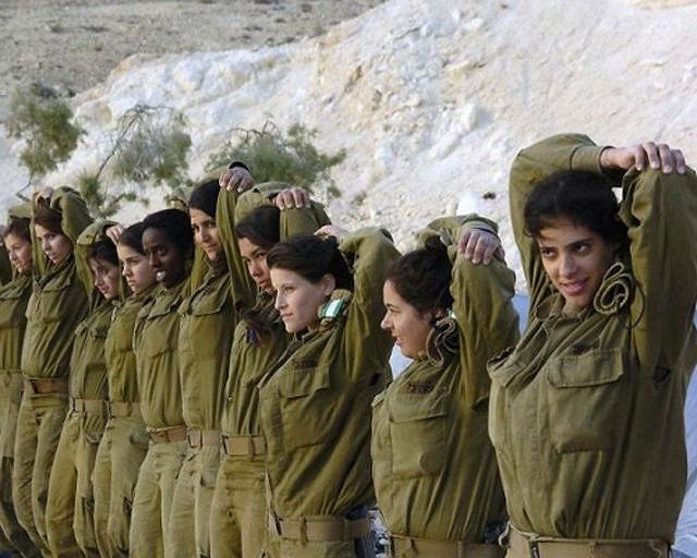 イスラエル軍の女性兵士159