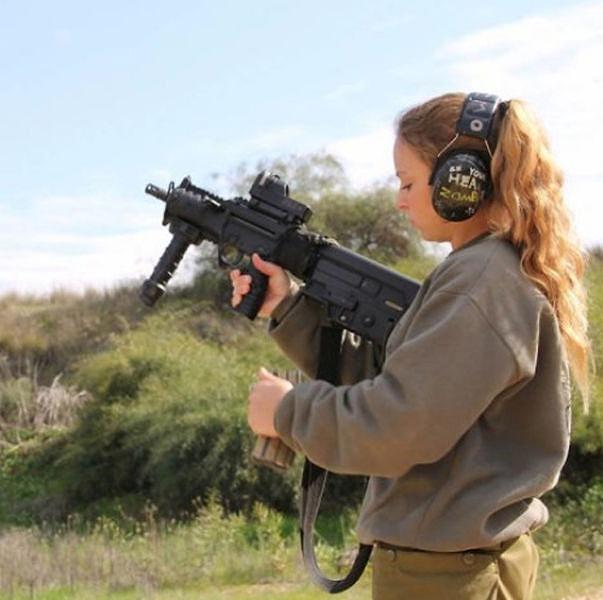 イスラエル軍の女性兵士162