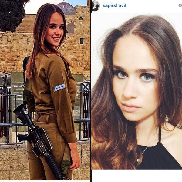 イスラエル軍の女性兵士168