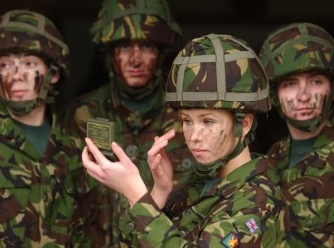 イスラエル軍の女性兵士18