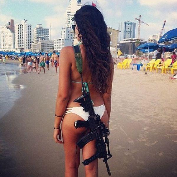 イスラエル軍の女性兵士23