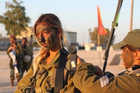イスラエル軍の女性兵士24