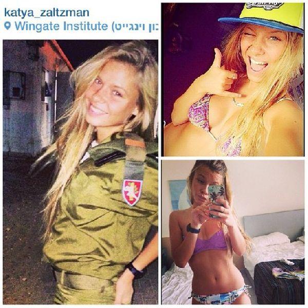 イスラエル軍の女性兵士27