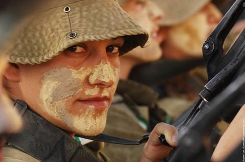 イスラエル軍の女性兵士36
