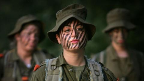 イスラエル軍の女性兵士4