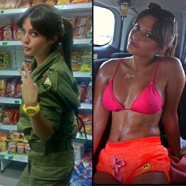 イスラエル軍の女性兵士43