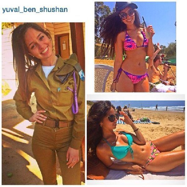 イスラエル軍の女性兵士53