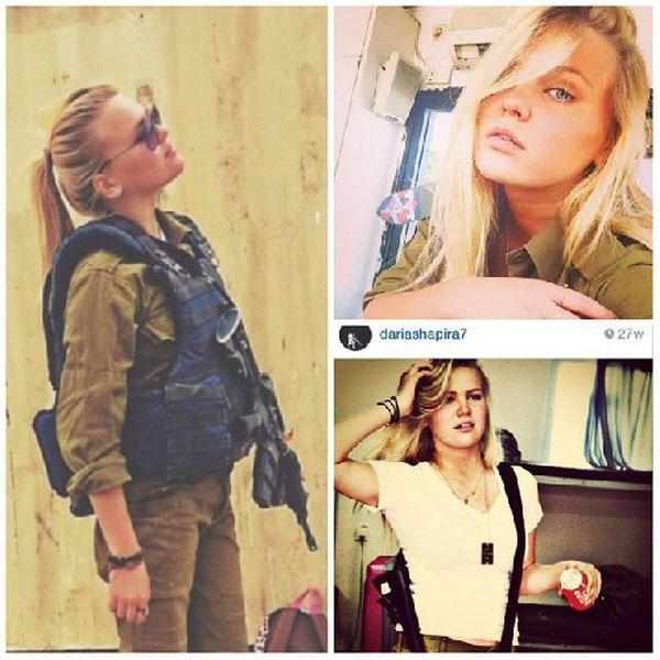 イスラエル軍の女性兵士61