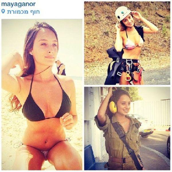イスラエル軍の女性兵士64