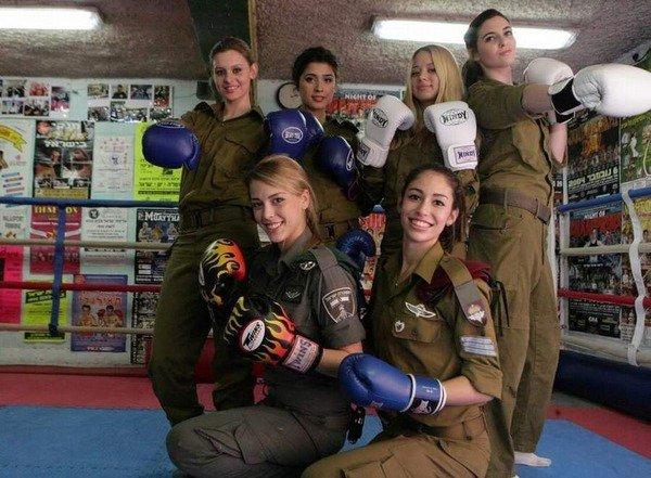 イスラエル軍の女性兵士74