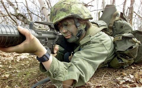 イスラエル軍の女性兵士8