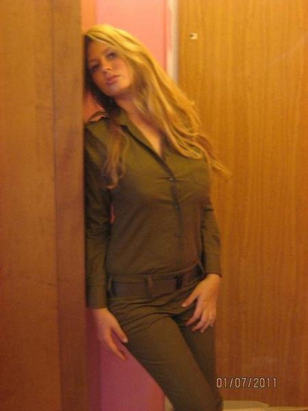 イスラエル軍の女性兵士99