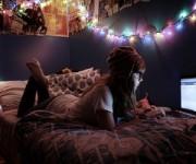 ベッドの照明16