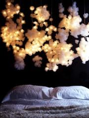 ベッドの照明3