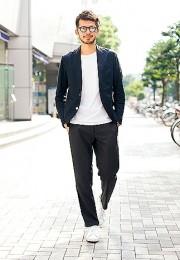 カッコイイお洒落な男性のファッション画像集10