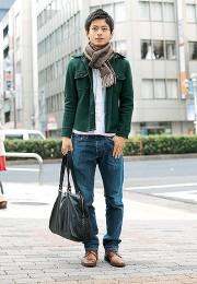 カッコイイお洒落な男性のファッション画像集12