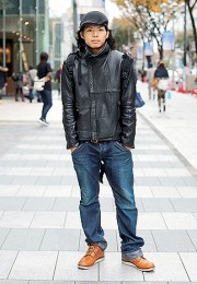 カッコイイお洒落な男性のファッション画像集13