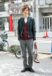 カッコイイお洒落な男性のファッション画像集17