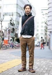 カッコイイお洒落な男性のファッション画像集19