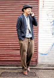 カッコイイお洒落な男性のファッション画像集21