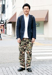 カッコイイお洒落な男性のファッション画像集30