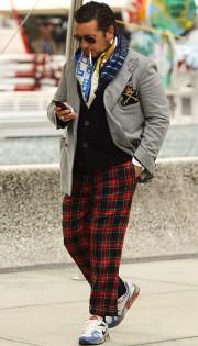 カッコイイお洒落な男性のファッション画像集4