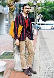 カッコイイお洒落な男性のファッション画像集42