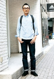 カッコイイお洒落な男性のファッション画像集46