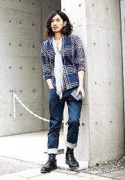 カッコイイお洒落な男性のファッション画像集48