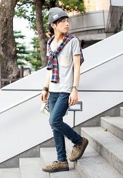 カッコイイお洒落な男性のファッション画像集67