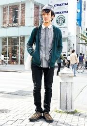 カッコイイお洒落な男性のファッション画像集71