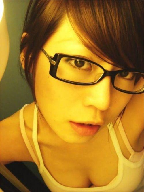 メガネが似合う 眼鏡美女の画像102