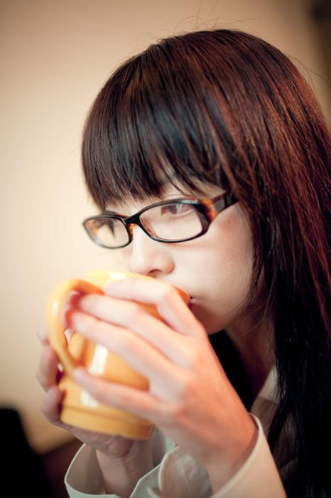 メガネが似合う 眼鏡美女の画像104