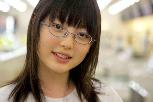 メガネが似合う 眼鏡美女の画像110