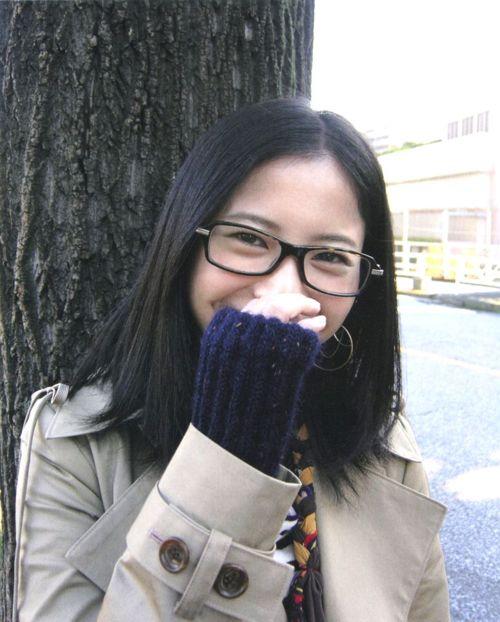 メガネが似合う 眼鏡美女の画像111