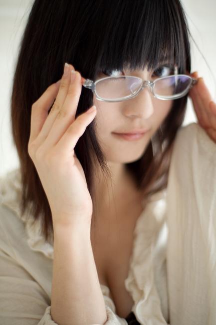 メガネが似合う 眼鏡美女の画像112