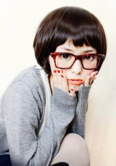 メガネが似合う 眼鏡美女の画像118